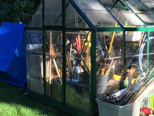 goodbye little greenhouse...
