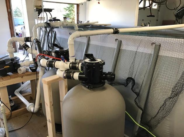 filtration set up